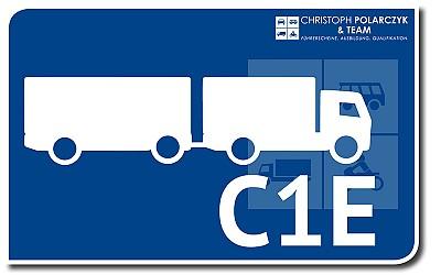 Lkw bis 7,5 t + Anhänger: C1E